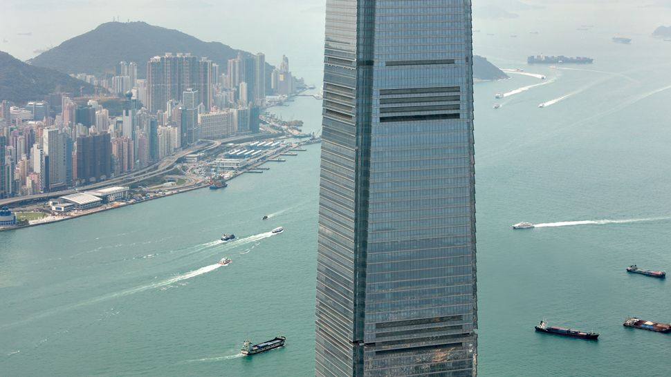 The Ritz-Carlton, Hong Kong - world's tallest hotels