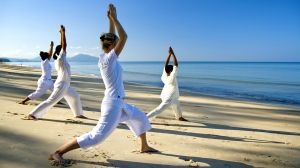 yoga at luxury hotels, resorts and inns